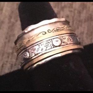 Silpada Spin Ring